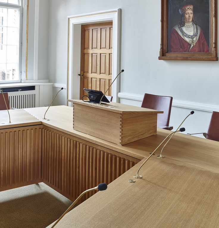 "Handmade table to Vejle in Denmark citycouncil. This is made in cooperation with E+N architecture. #woodworking ""council #cabinetmaker http://www.kjeldtoft.com/"