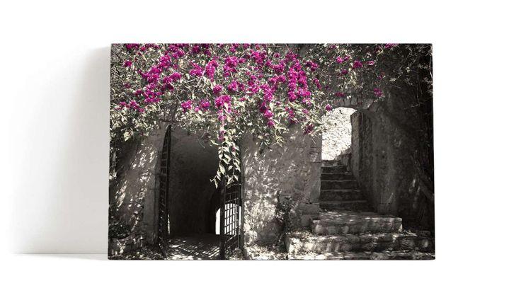 Blomster veggen  veggbilde