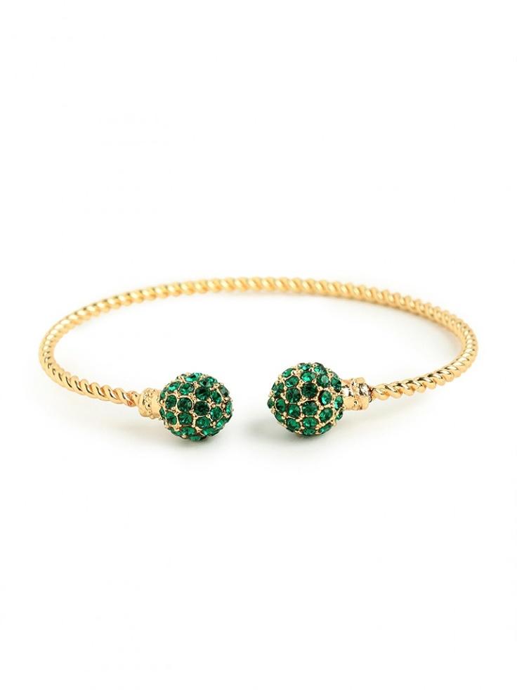 emerald disco bangle / baublebar