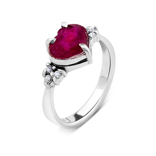 Created with love :) #love #ring #diamonds #ruby #engagement #marriage