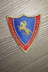 Patch Carabinieri a Cavallo  Made In Italy Dimensioni cm 8 x 7 cm. Nuovo | eBay