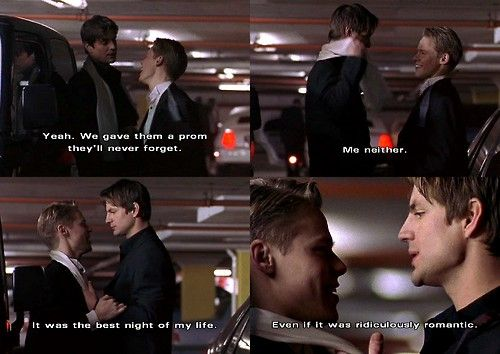 Queer As Folk - Brian and Justin after the prom