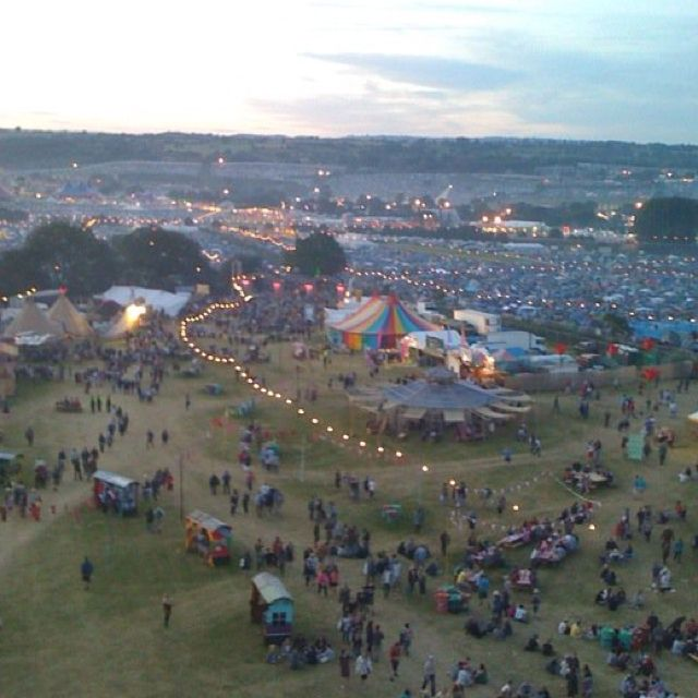Glastonbury Music Festival, England If it works out with the timing, I really want to get to a festival on our trip. Glastonbury would be once in a life time!!