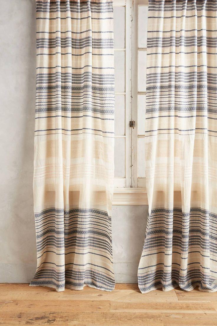 Beach window treatments - Yarn Dyed Lucida Curtain L Beach Home Windows L Www Dreambuildersobx Com