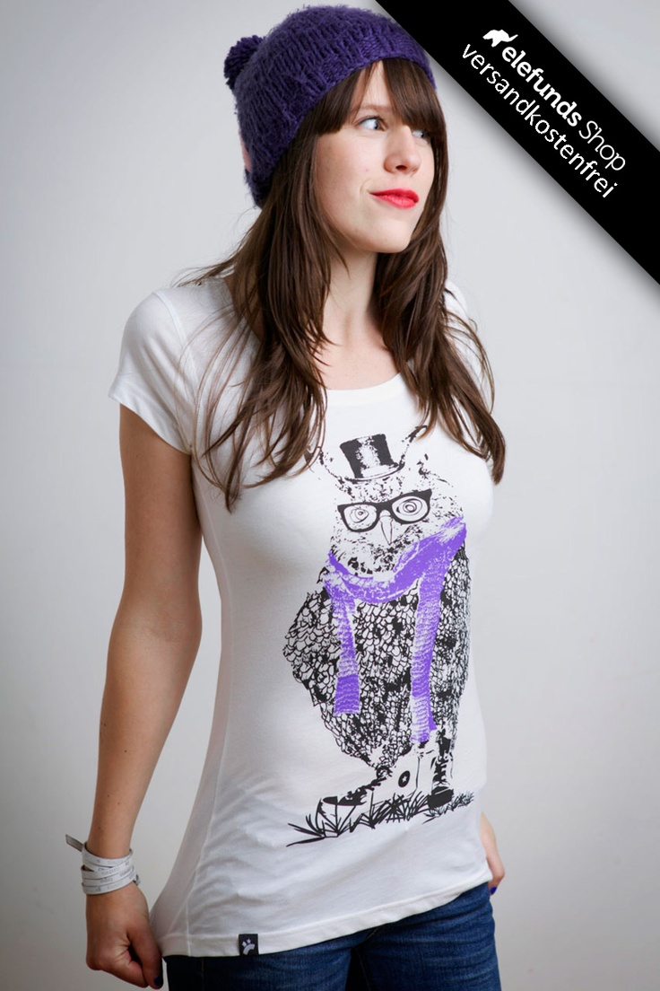 #Recolution - #Clarence - Frauen T-Shirt - weiß - 29,90€ - 100% organic cotton and fairtrade - Versand kostenlos