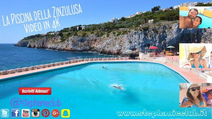 #ViPortoConMe - La piscina della Zinzulusa in 4K con Xiaomi Yi 2 | steph...