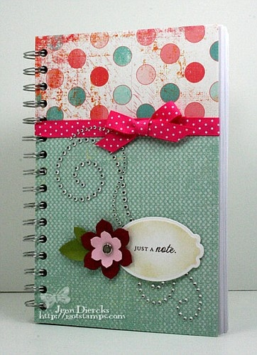 this would make a cute journal or planner!