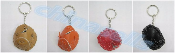 100pcs baseball glove key ring mini baseball glove keychain pendant children's Day promotional student school advertising gifts