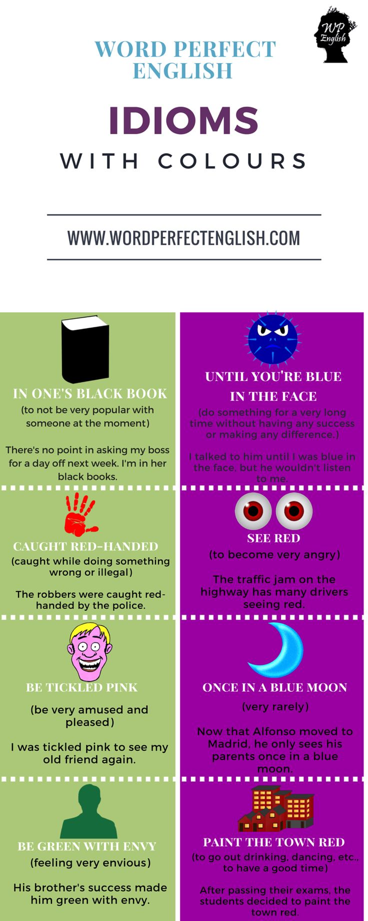 Idioms with Colours 2/2