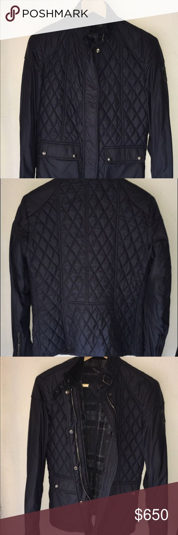 Belstaff quilted Jacket Authentic Belstaff jacket. Black quilted. Size small. Fast shipping. Excellent condition. Belstaff Jackets & Coats Utility Jackets