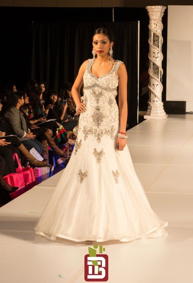 Ohm Bridal Fashion Show 2013 Wearing: Chandan Fashions - Toronto