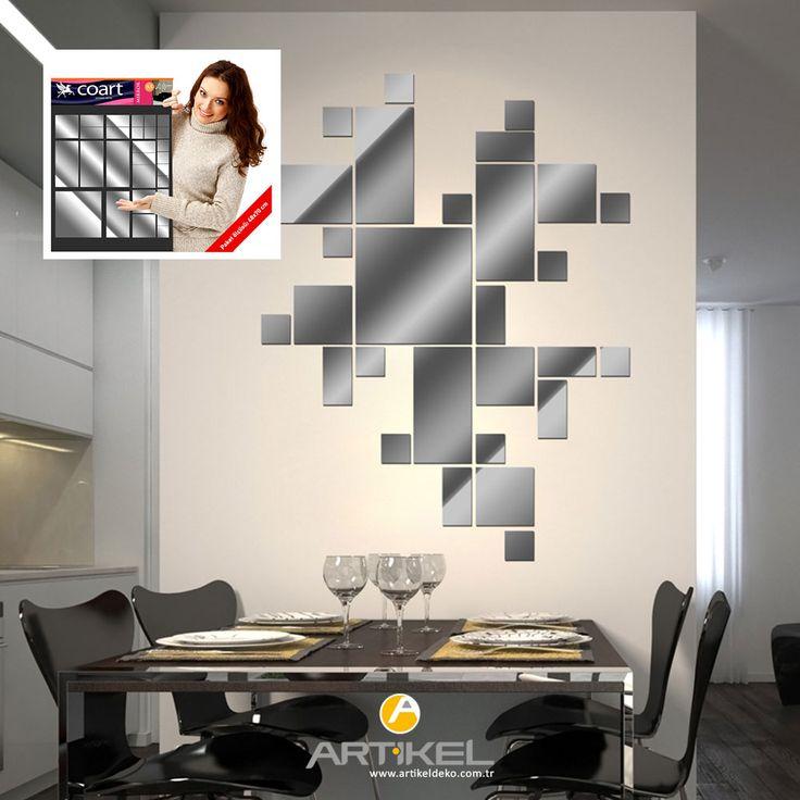Dekoratif ayna, duvarlarınızın yeni modası olmaya aday... #ayna #evdekorasyon #dekorasyon #artikeldeko