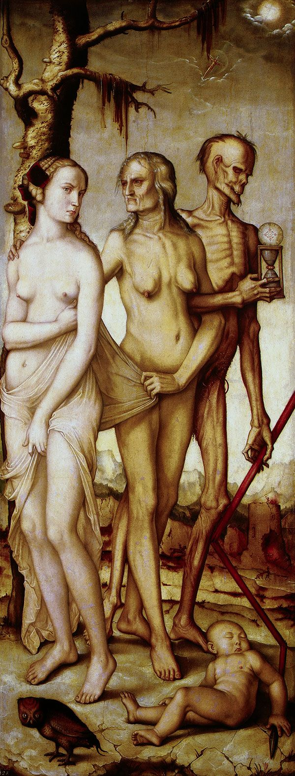 """""""The Three Ages of Man and Death"""" by Hans Baldung"""