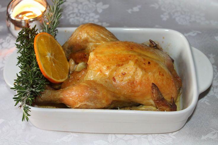 Pollo picanton a la naranja