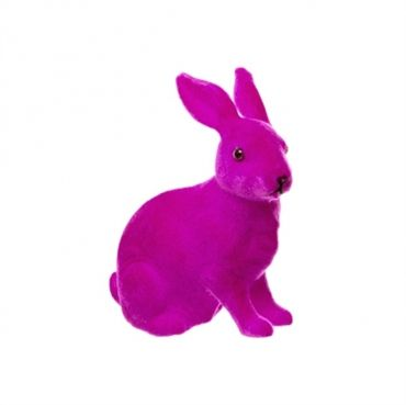 Neon brights bunny rabbit - hot pink (S)