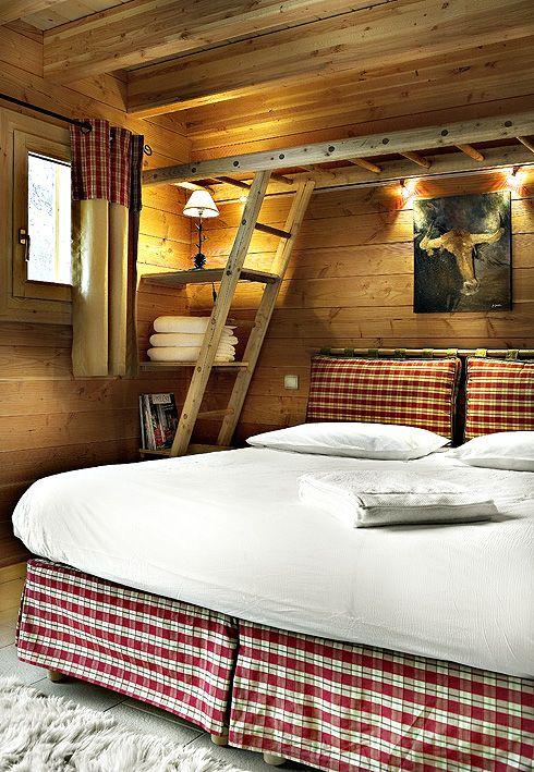 Chambre double du chalet individuel Coton type Jacuzzi®