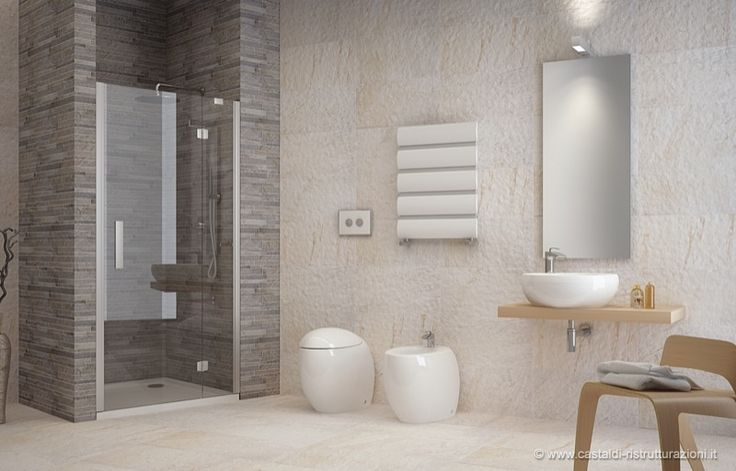 Oltre 25 fantastiche idee su piastrelle per doccia su pinterest bagno con doccia piastrella a - Piastrelle bagno effetto pietra ...