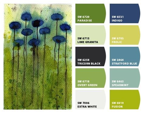 """""""Day Dreaming"""" - Color Palette Inspiration for exterior craftsman home paint color scheme, stone accents, shingle choice and landscape plantings. Chip It! by Sherwin-Williams – Home"""