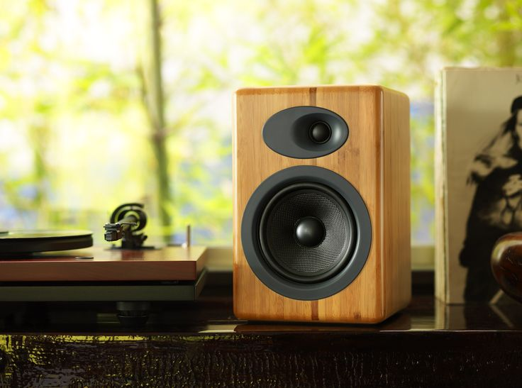 Afforable audiophile-quality sound. A5+ Powered Speakers closes the gap between your computer sound system and a huge home hi-fi. Read more →
