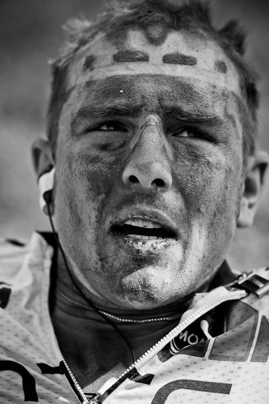 John Degenkolb at the end of Paris-Roubaix. Never doubt how gruelling this race is ...