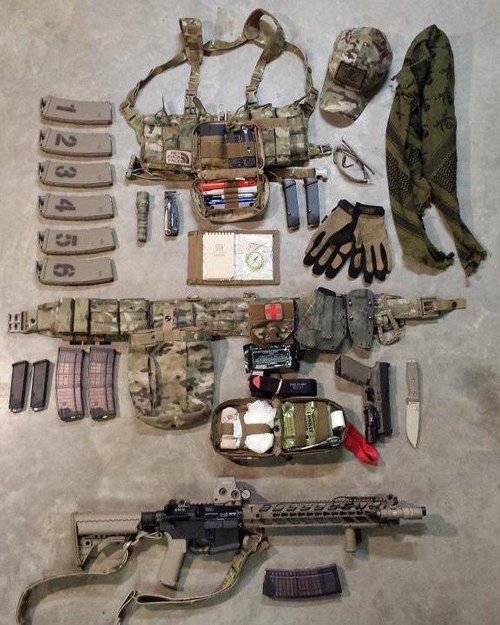 I like the numbers in magazines ! good idea! #loadout #tacticool…