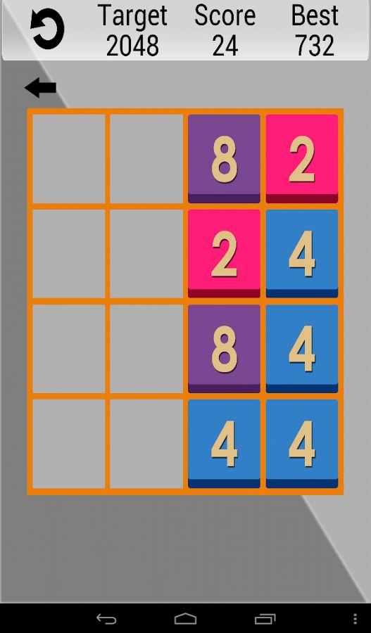 2048 Metro - screenshot
