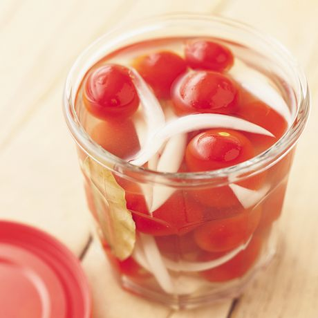 ミニトマトのフレッシュピクルス | 平野由希子さんのピクルスの料理レシピ | プロの簡単料理レシピはレタスクラブニュース