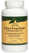 Liver Fractions with Heme Iron - 90 Capsules - by Terry Naturally