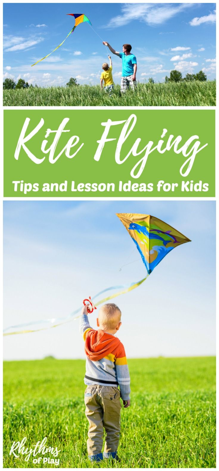 Easy tips to learn how to make and safely fly a kite with kids.Kite flying with kids is a fun outdoor activity with many benefits and opportunities to learn. It's the perfect activity for homeschoolers and families to get outside, connect, and learn about wind science through play. Choosing to make your own kite turns kite flying with kids into a STEAM activity. Kids can learn a lot from designing, building, and decorating their own kites.
