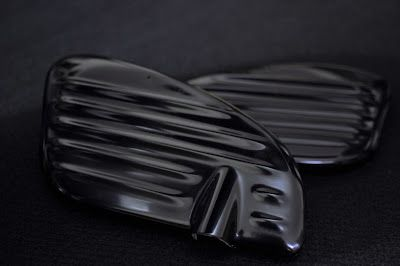 CRAZE ribbed side cover for HONDA C70