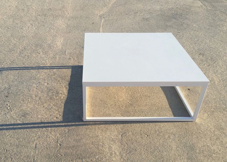 Coffee Table Metal & Melamine