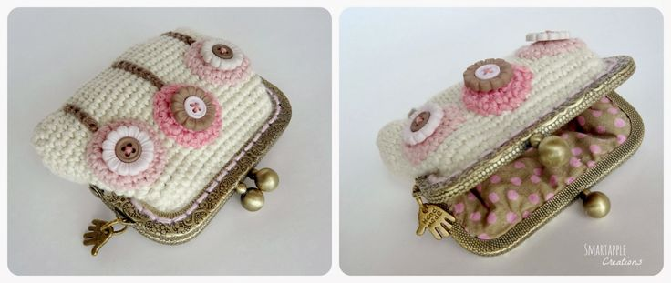 Smartapple Creations - amigurumi and crochet: Crocheted purses, pouches and phone cases