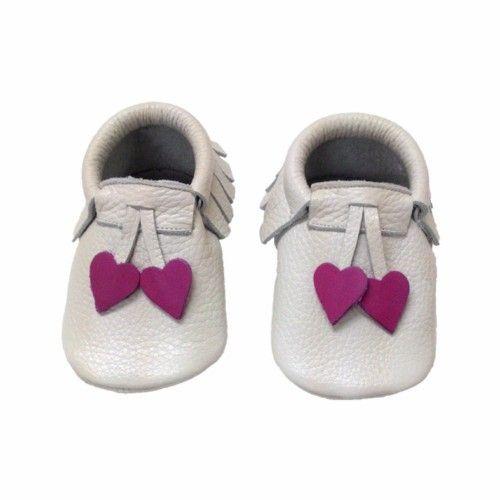 Kalpli Makosen Bebek Ayakkabı Bej - Sanatkardan