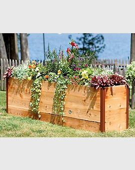 Great idea....no getting down on hands and knees to garden