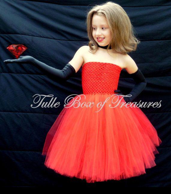Scarlet Overkill Minion tutu costume by TulleBoxofTreasures