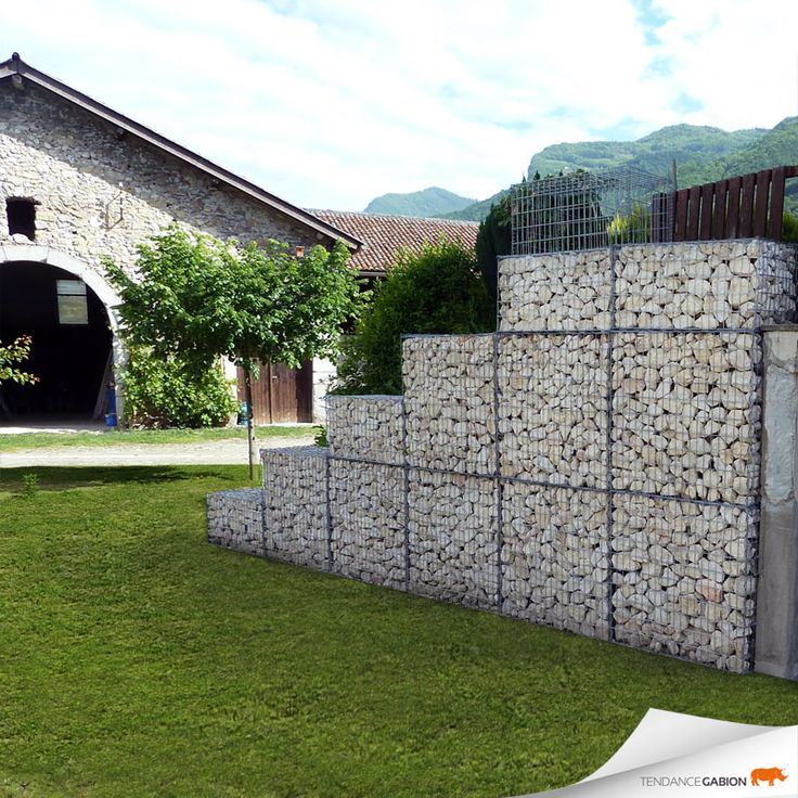 les 25 meilleures id es de la cat gorie cages de gabions sur pinterest mur de gabion gabions. Black Bedroom Furniture Sets. Home Design Ideas