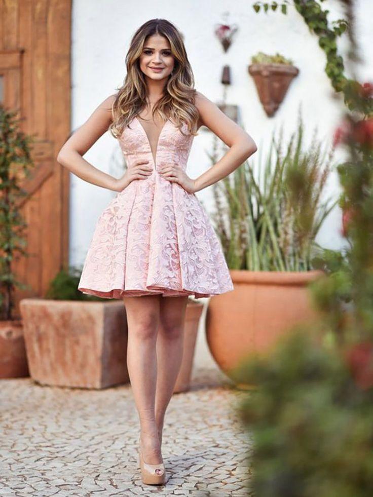 Vestido curto para casamento: 10 ideias para a próxima festa | Moda | Prom dresses, Homecoming dresses, Dresses