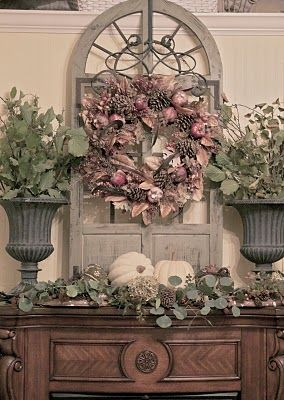 84 Best Images About Mantels Set The Mood On Pinterest