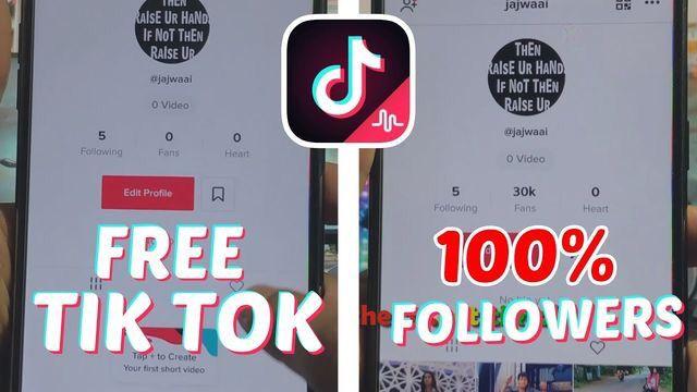Tiktok Followers Free Tiktok Fans Hack How To Get Followers Free Followers How To Be Famous