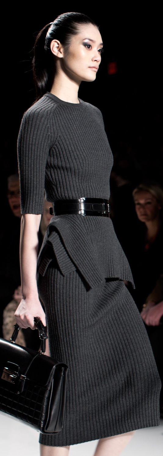 A little more upscale but still casual enough for me! Love 2 matching pieces that are not really suit...Michael Kors, f/w 2013. #Personal Leadership #Women