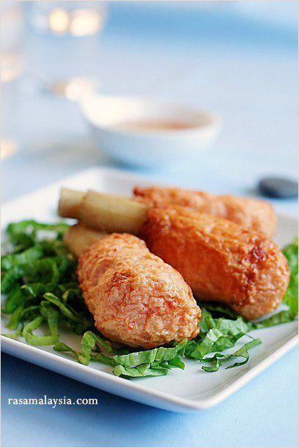Vietnamese Sugar Cane Shrimp (Chao Tom) Recipe. #appetizer #shrimp #recipe