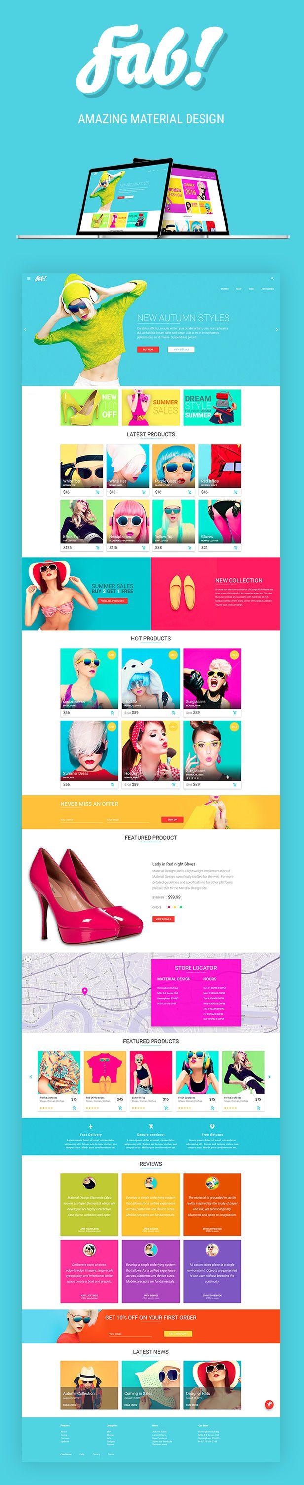 16 best Parallax images on Pinterest | Website designs, Design web ...