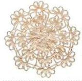 Patrón #1437: Granny a Crochet | CTejidas [Crochet y Dos Agujas]