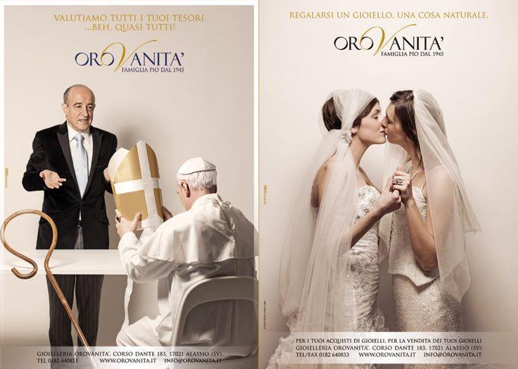 Campagna immagine 2013 per OROVANITA - gioielleria #Alassio #adv #oro