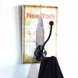 Cabideiro de Madeira New York