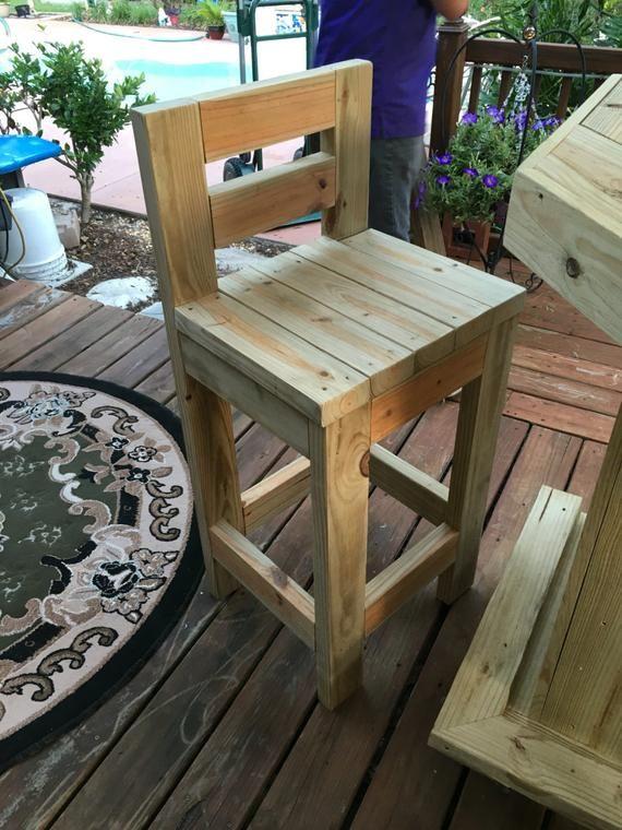 The Original L 7 X 4 5 L Shaped Rustic Treated Etsy Outdoor Patio Bar Outdoor Bar Stools Wood Furniture Diy