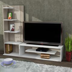 Sleek TV Ünitesi Beyaz-Cordoba