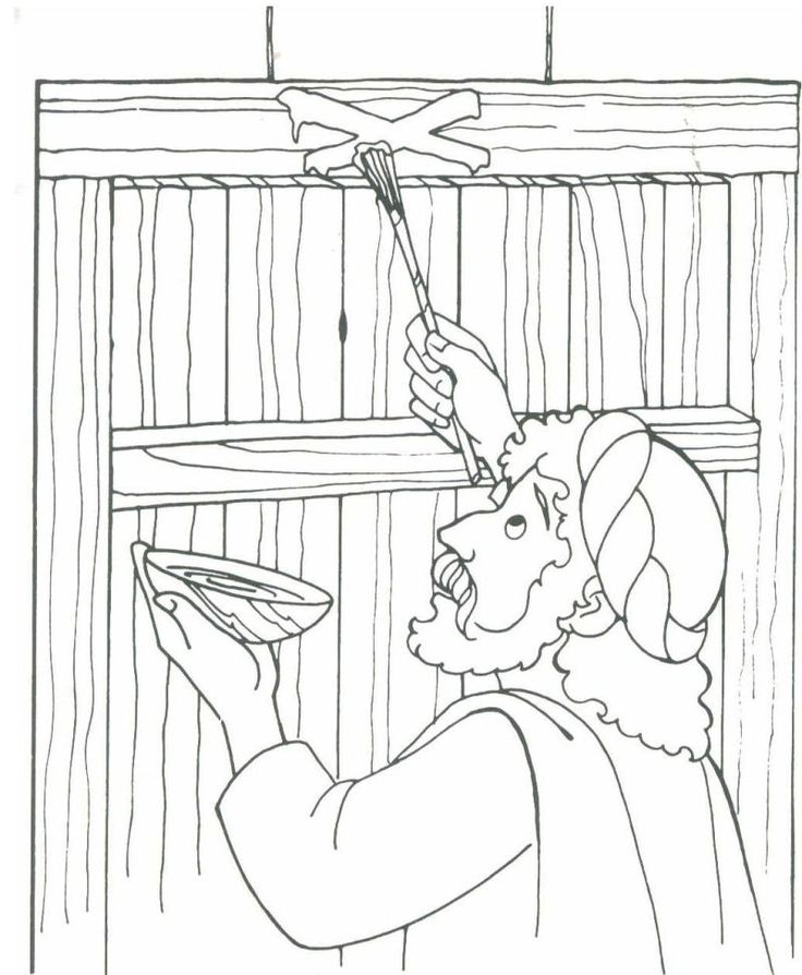 moses death coloring pages - photo#16