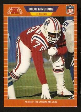 | NEW ENGLAND    ROOKIE CARD RC 1989 PRO SET # 244