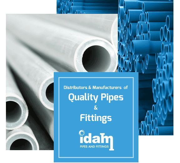 PVC pipe is the world's most widely used medium for conveyance of fluids. Avail our PVC Pressure Fittings service on www.idam.com.au.